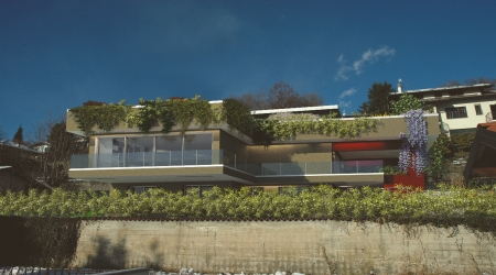 Villa singola moderna